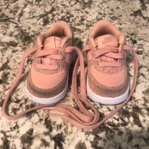 Baby girl Nike Force 1